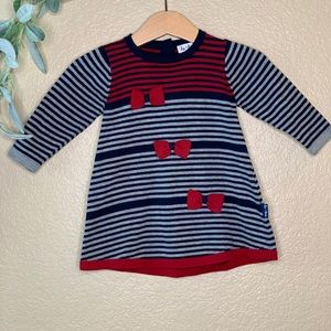 Le Top ~ Knit Stripped Sweater Dress